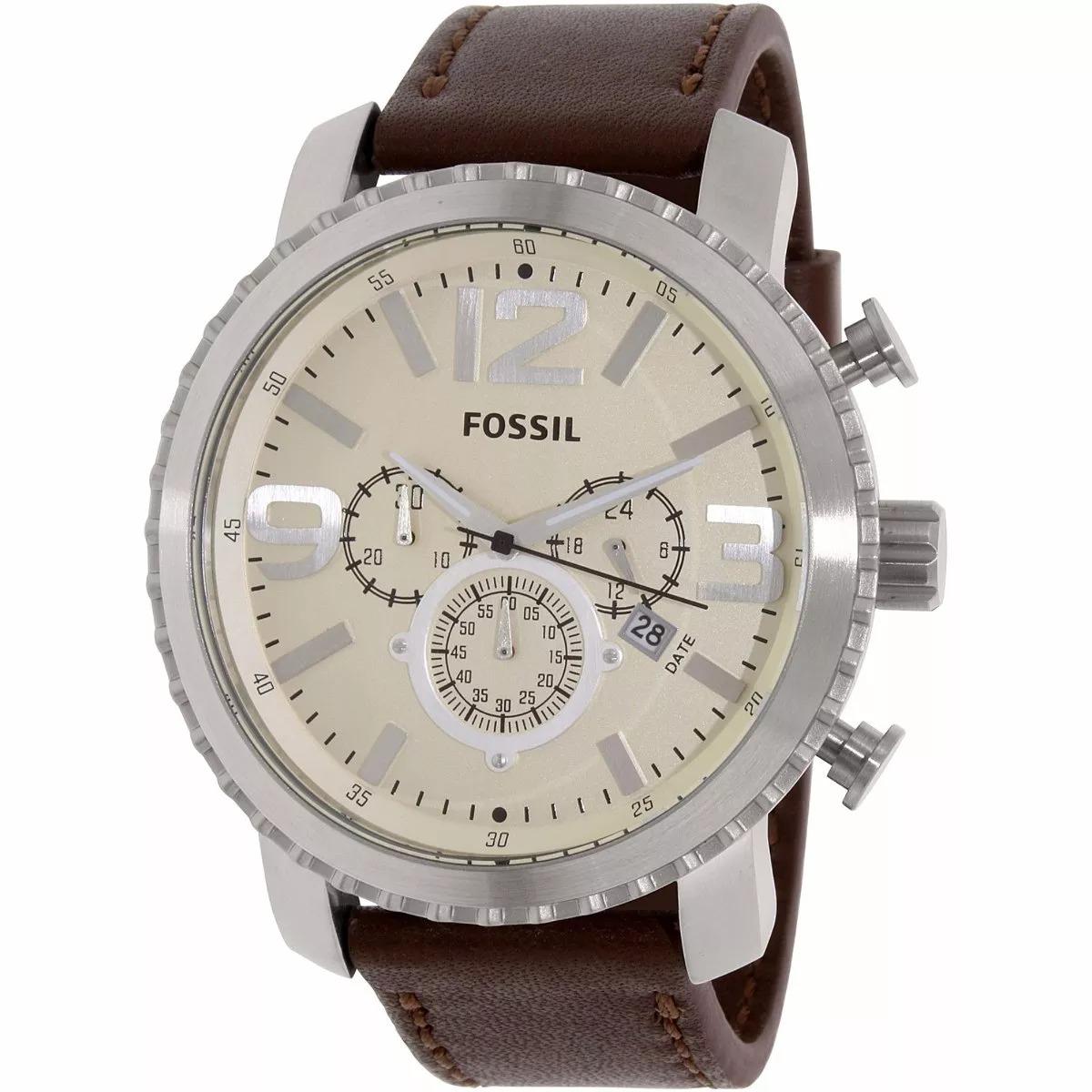 Relógio Fossil Masculino Original Chronograph Bq1177 - R  499,00 em ... f1c70bc8ee