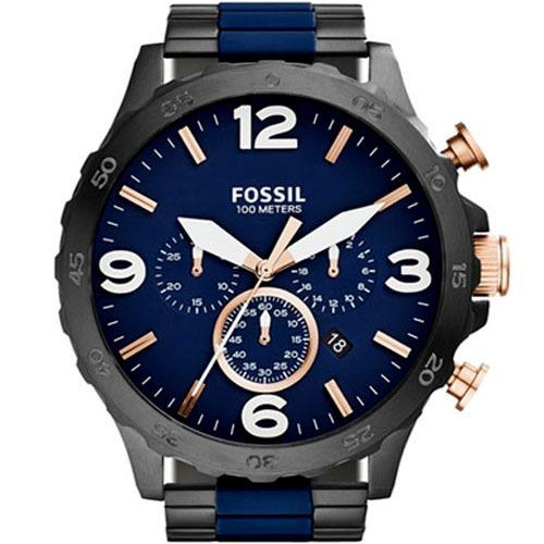 cc46ef02e273e Relógio Fossil Masculino Nate Chronograph Jr1494 1an - R  1.046,00 ...