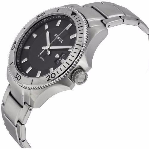 Relógio Fossil Masculino Analógico Prata Fs5058 1pn - 100m - R  589 ... 5012068db7