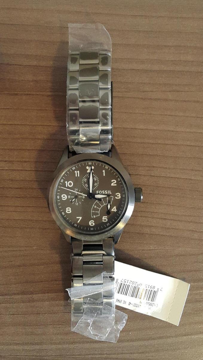 ddf382a0e5bb94 Relógio Fossil Masculino Ch2950/1pn - R$ 350,00 em Mercado Livre