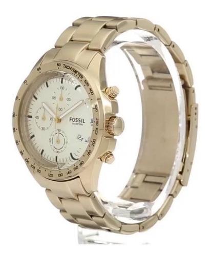 relógio fossil masculino ch3037/4xn dourado