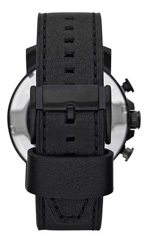 relógio fossil masculino couro cronógrafo garantia 2 anos
