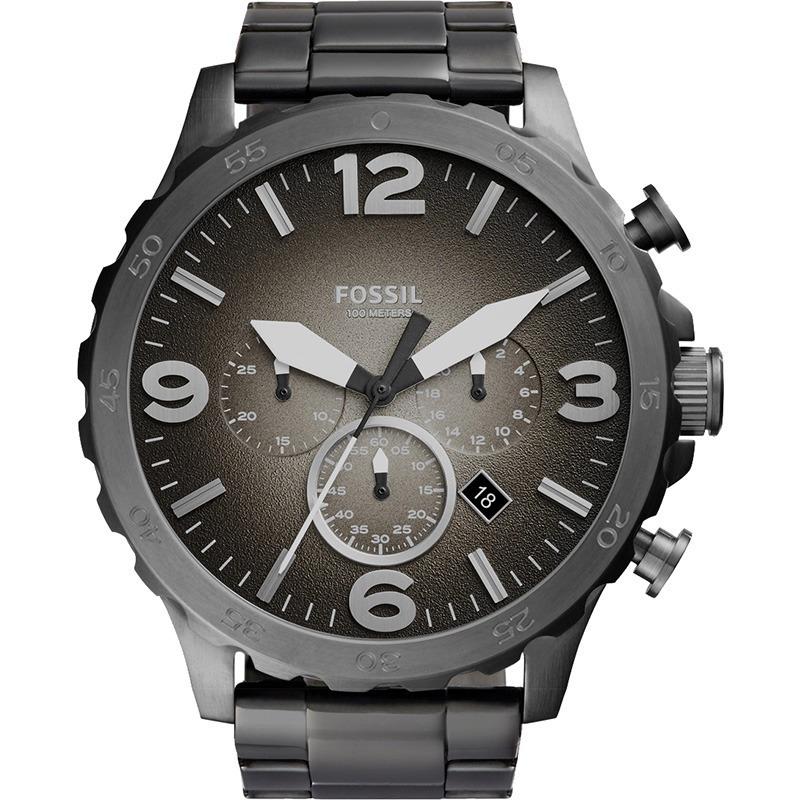 4f4af57414537 relógio fossil masculino cronógrafo jr1437. Carregando zoom.