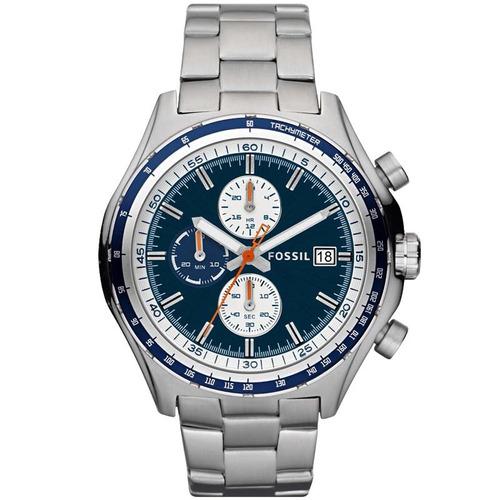 relógio fossil masculino fch2809z cinza