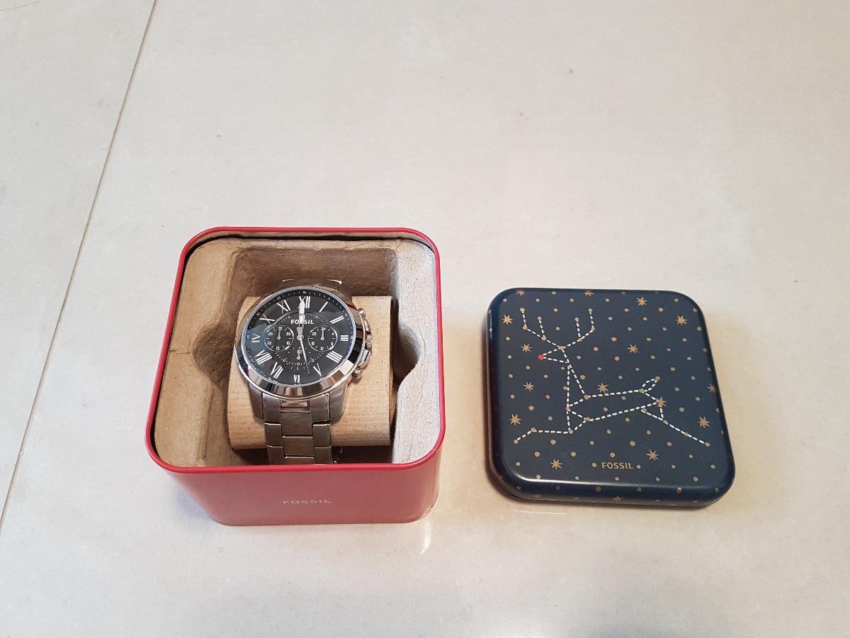 c9cb7adfe6f8d Relógio Fossil Masculino Grant - R  300,00 em Mercado Livre