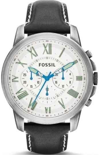 40026c9de38 Relógio Fossil Masculino Grant Cronógrafo Fs4921 0cn - R  651