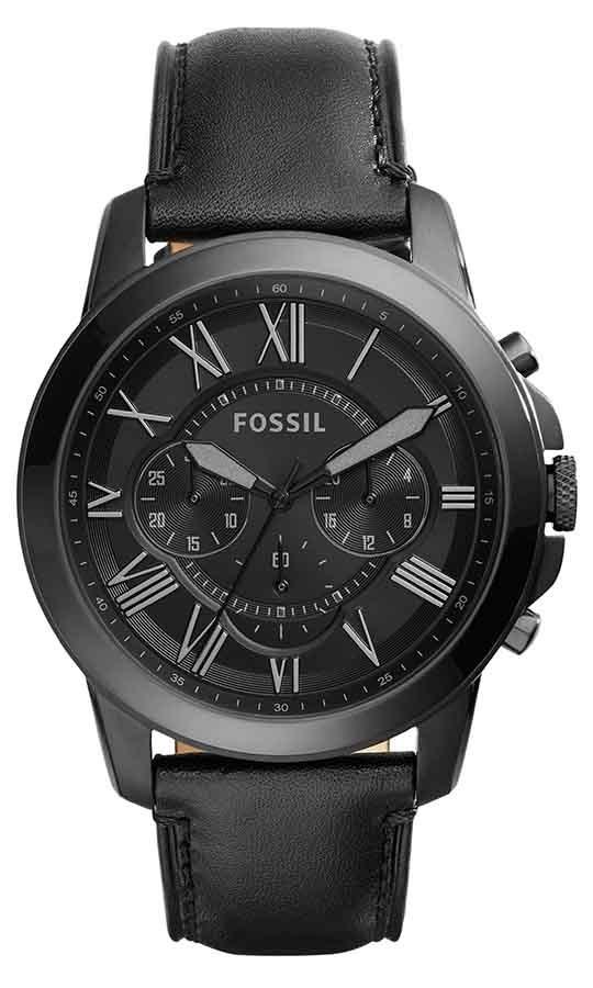 2f41b6832ec92 relógio fossil masculino grant fs5132 0pn aço preto. Carregando zoom.