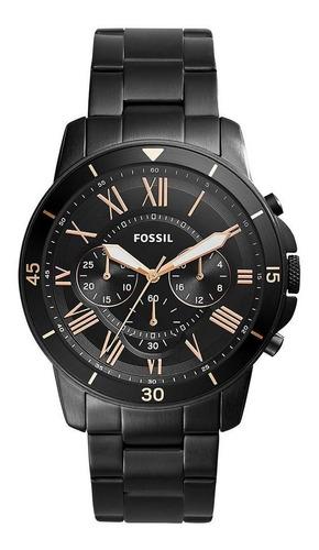 relógio fossil masculino grant sport preto - fs5374/1pn