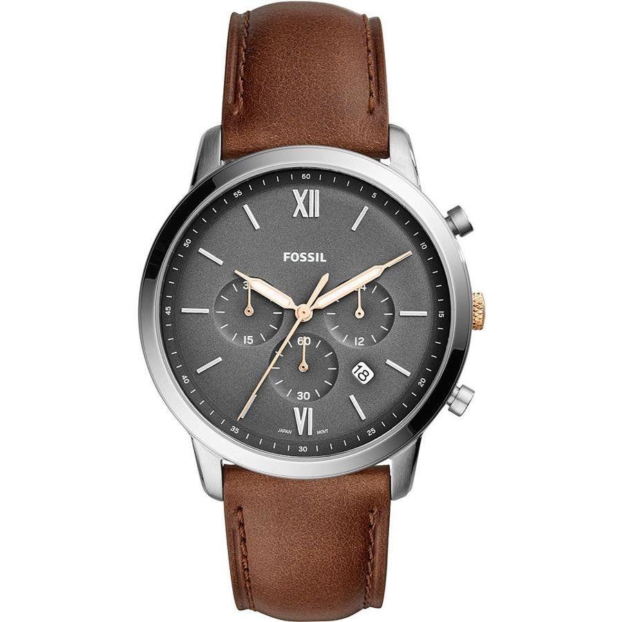 relógio fossil masculino ref  fs5408 0mn cronografo prateado. Carregando  zoom. db8f1d56a2