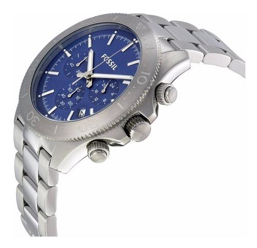 relógio fossil masculino retro traveler ch2894 - nfe