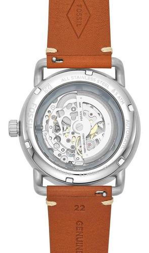 relógio fossil masculino the commuter prata me3159/0mn