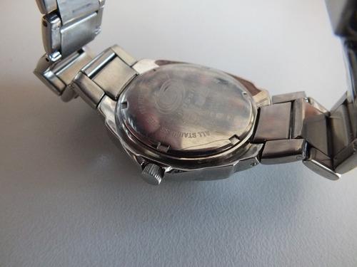 relógio fossil masculino usado (leia)