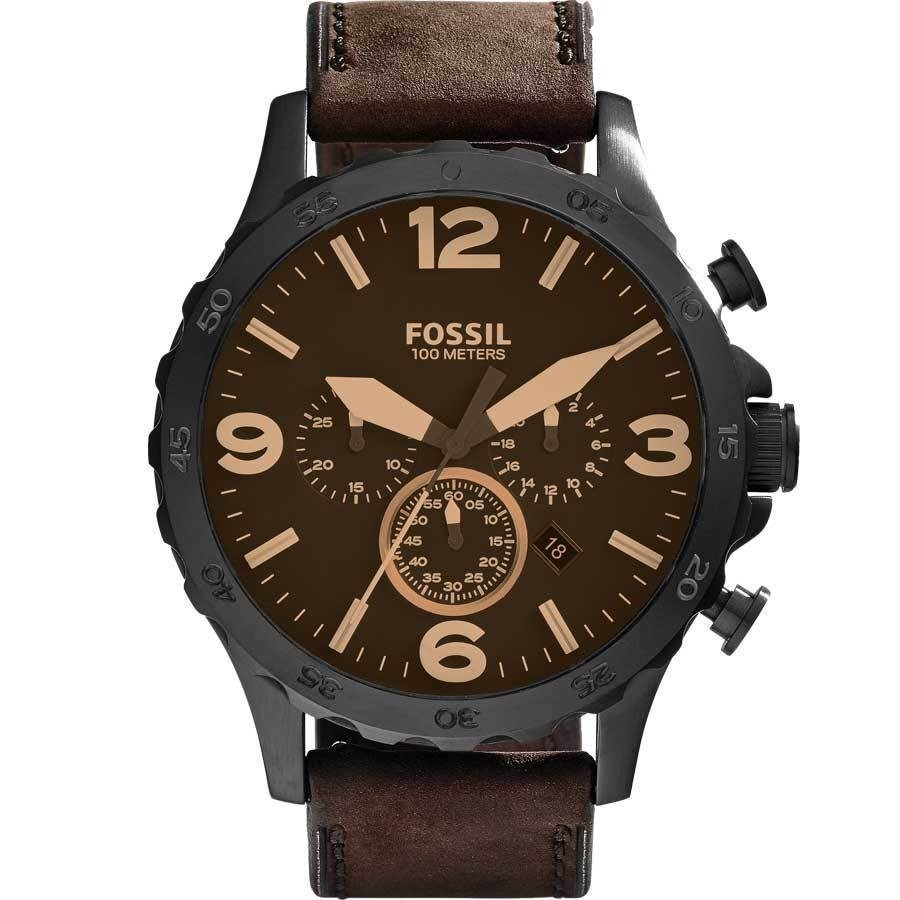 0dd547bffee relógio fossil nate cronógrafo jr1487 original masculino. Carregando zoom.