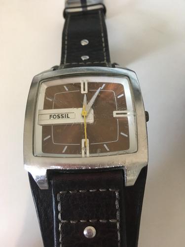 relógio fossil original couro