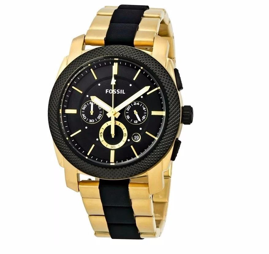 19d8598edeac4 relógio fossil original dourado masculino fs5261 lançamento. Carregando  zoom.