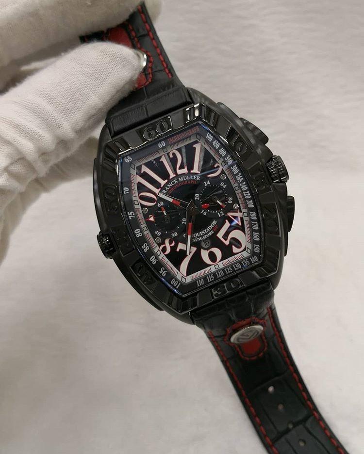 f5f7125d564 relógio franck muller f1 singapore gp black. Carregando zoom.