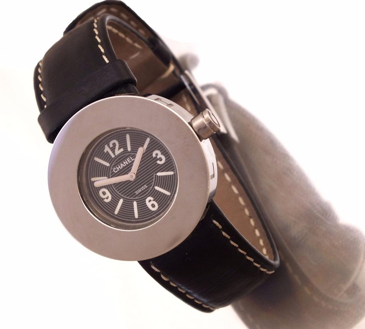 23b597b7329 Relógio Francês Chanel Feminino Feito Em Aço J8914 - R  1.399