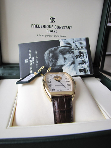 relógio frederique constant automatico