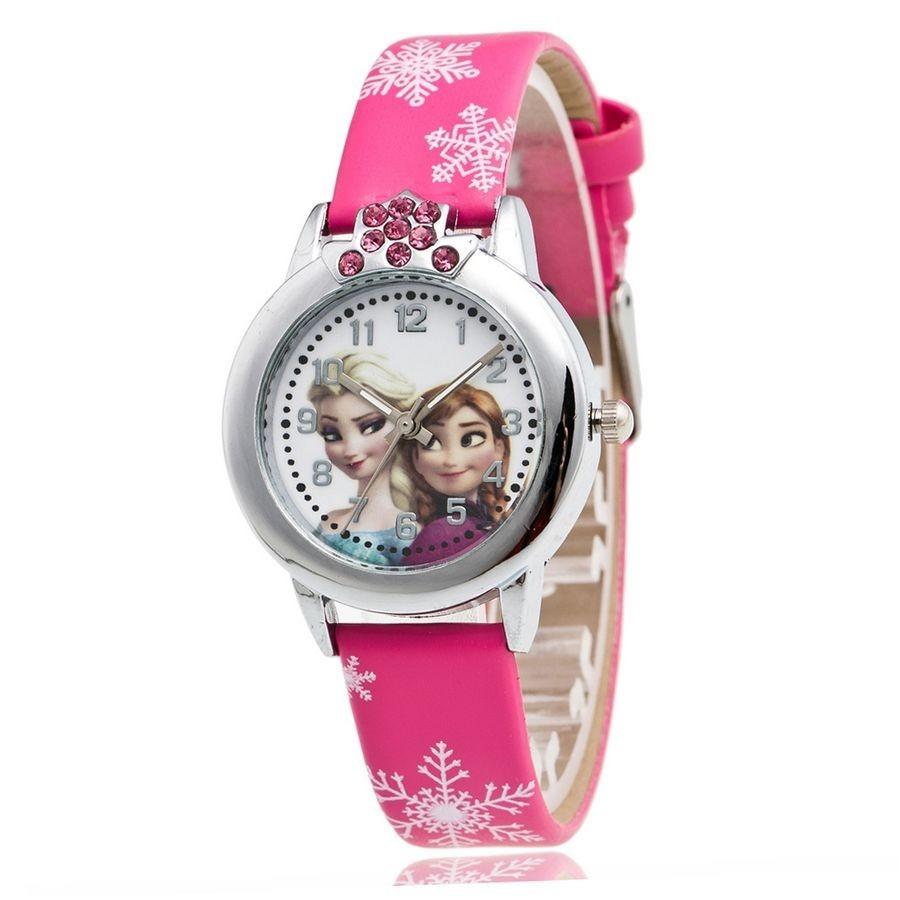 5a9aed955fc relógio frozen princesa anna e elsa moda menina. Carregando zoom.