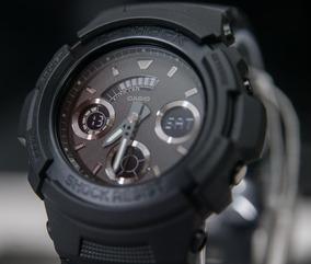 wholesale dealer ea40f c3a58 Relógio G-shock Aw-591bb Preto Original Caixa Pequena Aw591