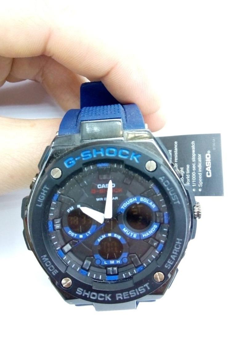 9658ba06f1e relógio g-shock azul masculino prova d água + frete grátis. Carregando zoom.