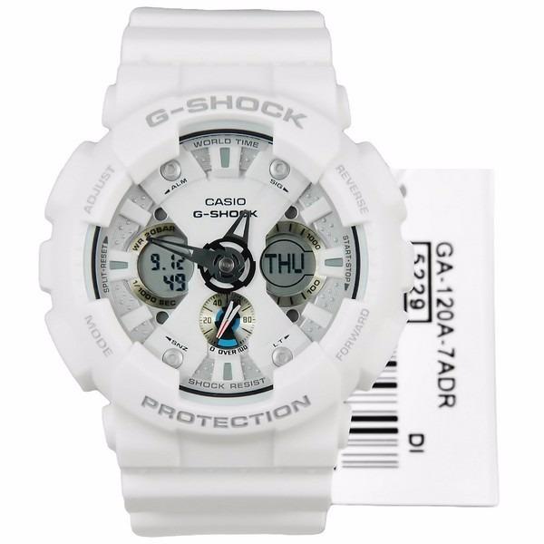 6267993252b Relógio G Shock Branco Casio Ga120-a G-shock Original - R  600