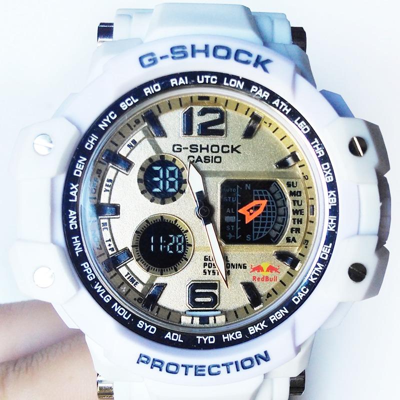 3e885bbd22f Relógio G-shock Branco Elite - Exclusivo - Frete Grátis - R  129