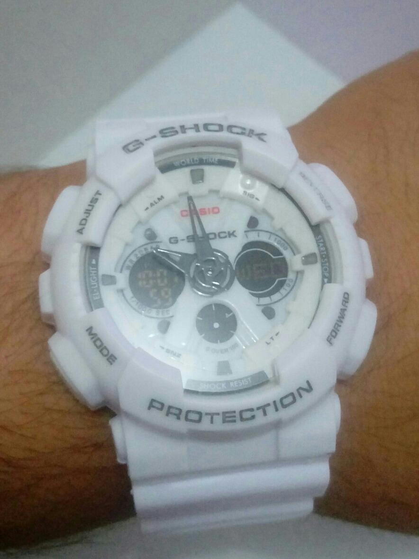6470863132d relógio g-shock branco esportivo. Carregando zoom.