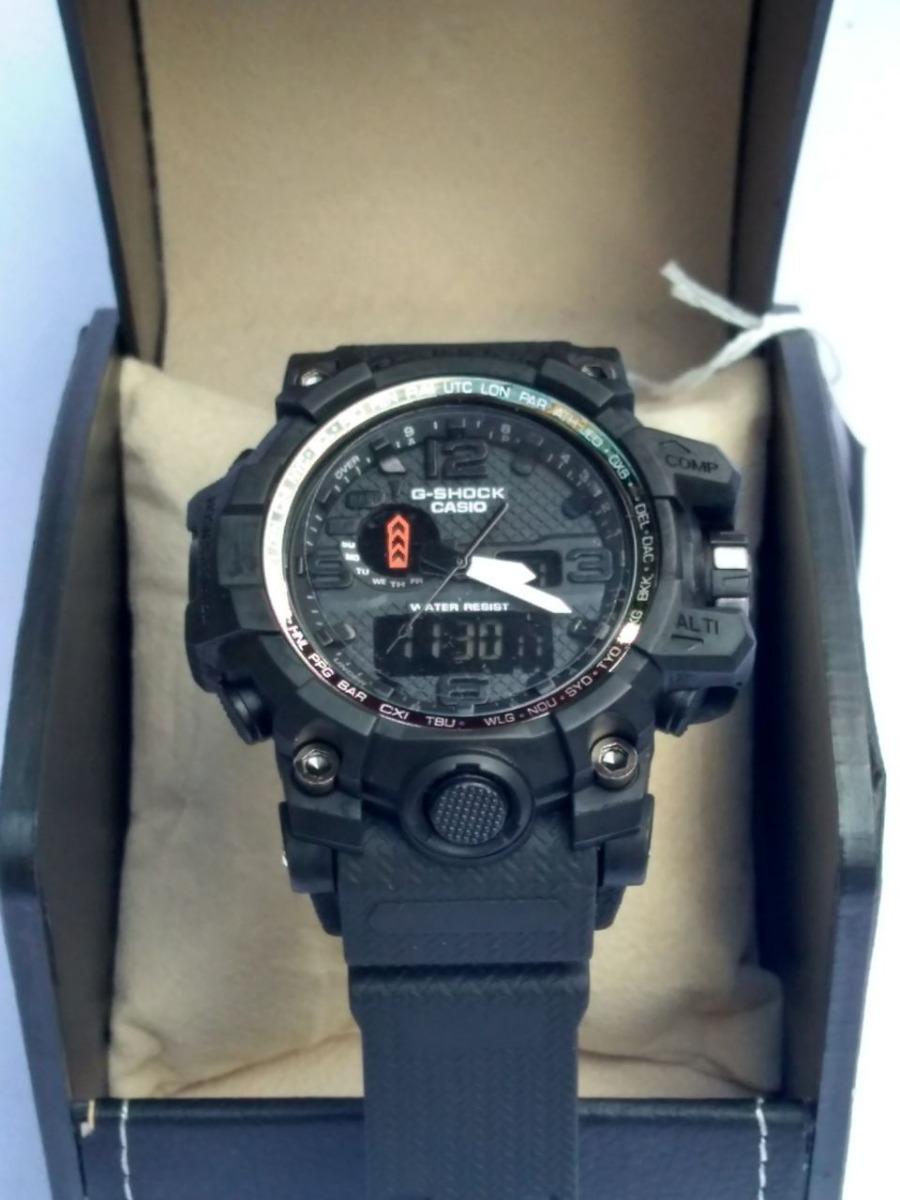 84c5243092e relógio g-shock caixa preta pulseira preta importado. 10 Fotos