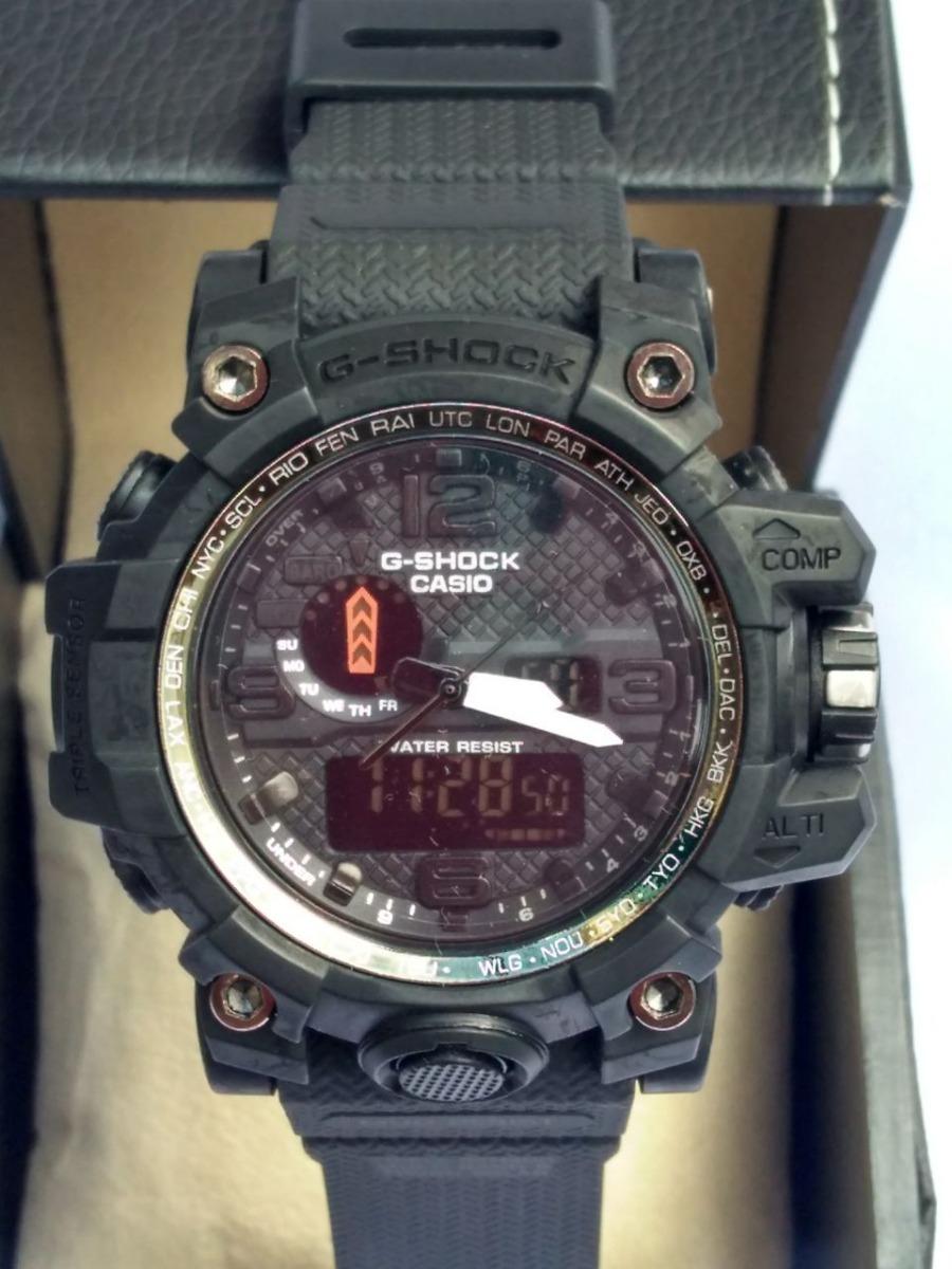 434740711c9 Relógio G-shock Caixa Preta Pulseira Preta Importado - R  129
