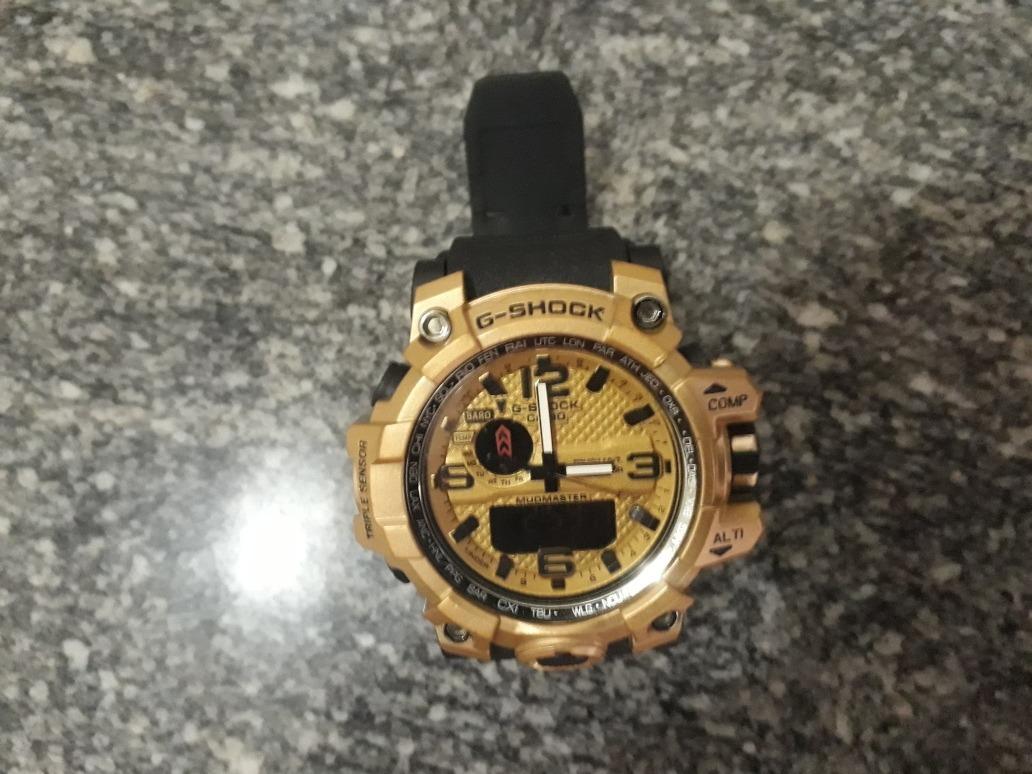 930999c5d2f relógio g-shock -casio dourado e preto! melhor preço. Carregando zoom.