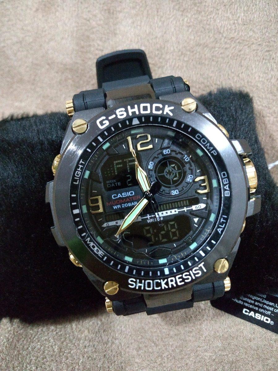 6aac89134c0 relógio g-shock casio shock resist analógico digital. Carregando zoom.