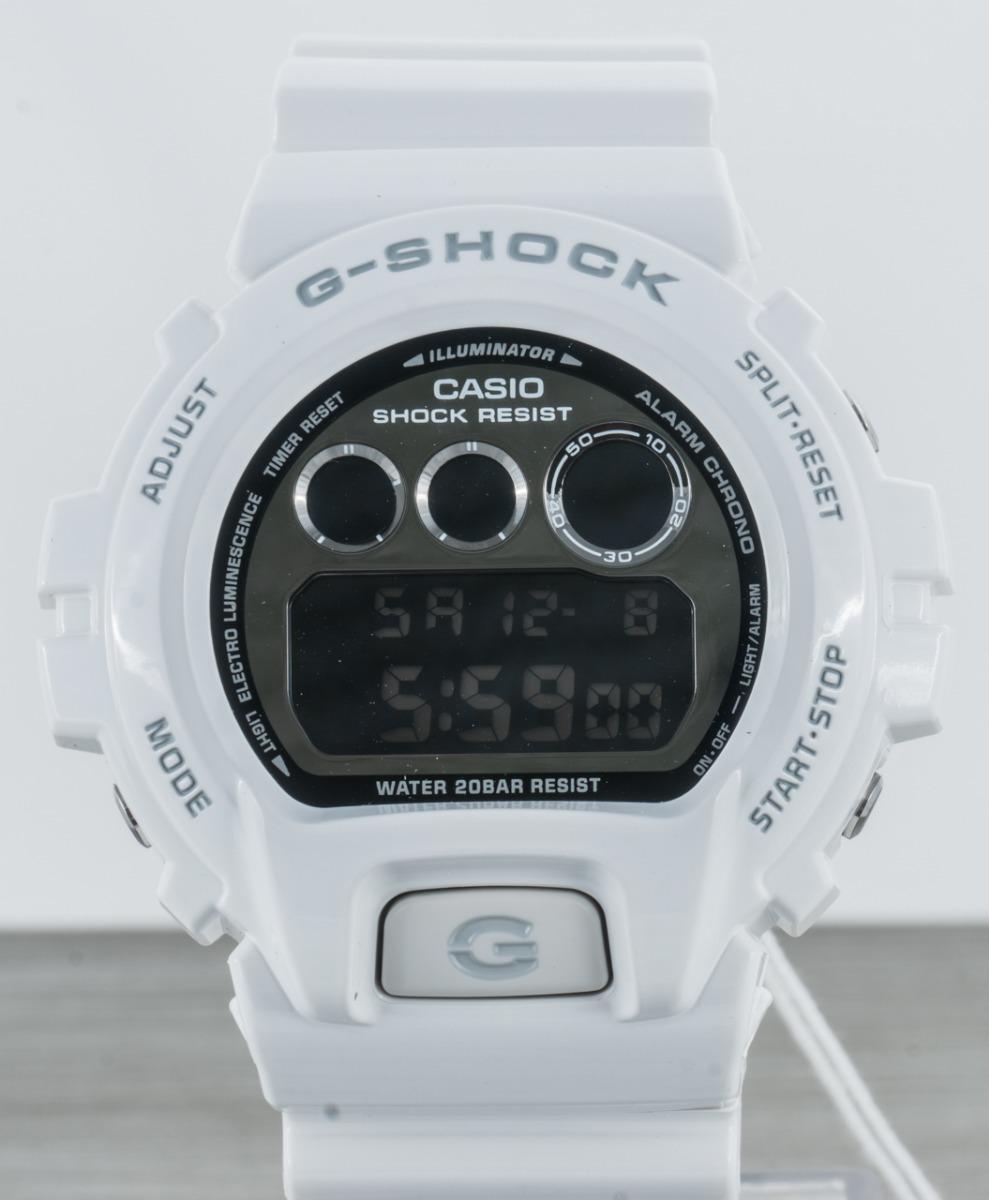 687016f88fa relógio g shock dw 6900 branco dw 6900nb original novo. Carregando zoom.