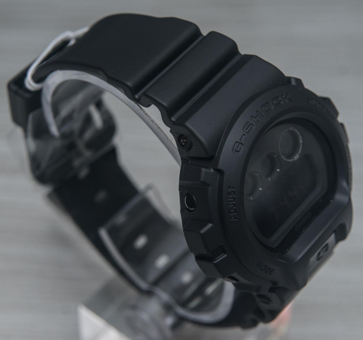 703bde7be8f relógio g-shock dw-6900bb all black preto militar original. Carregando zoom.