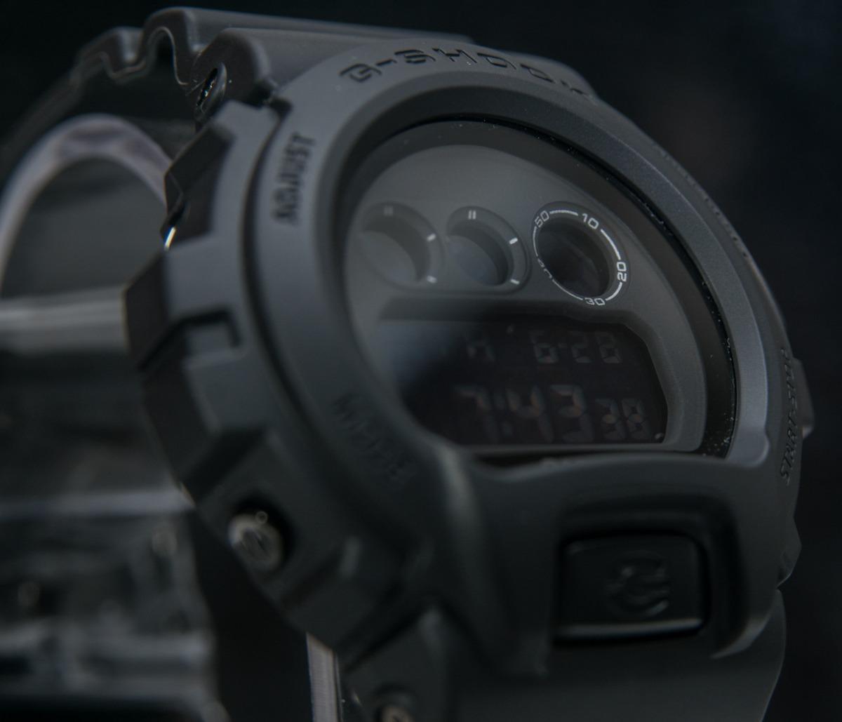 bdd0c2d2889 relógio g-shock dw-6900bb all black preto militar original. Carregando zoom.