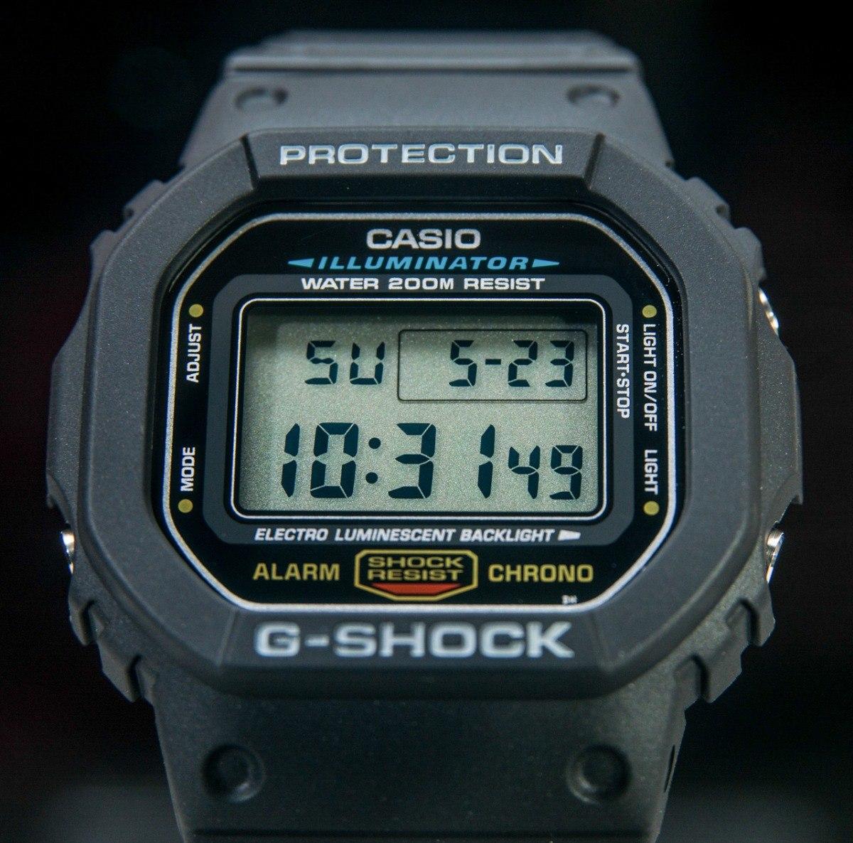 4fe2950d570 relógio g-shock dw5600 clássico dw-5600e-1vd original. Carregando zoom.