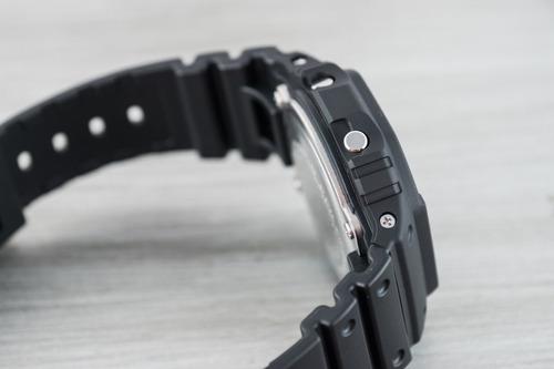 relógio g-shock dw5600bb clássico preto all black original