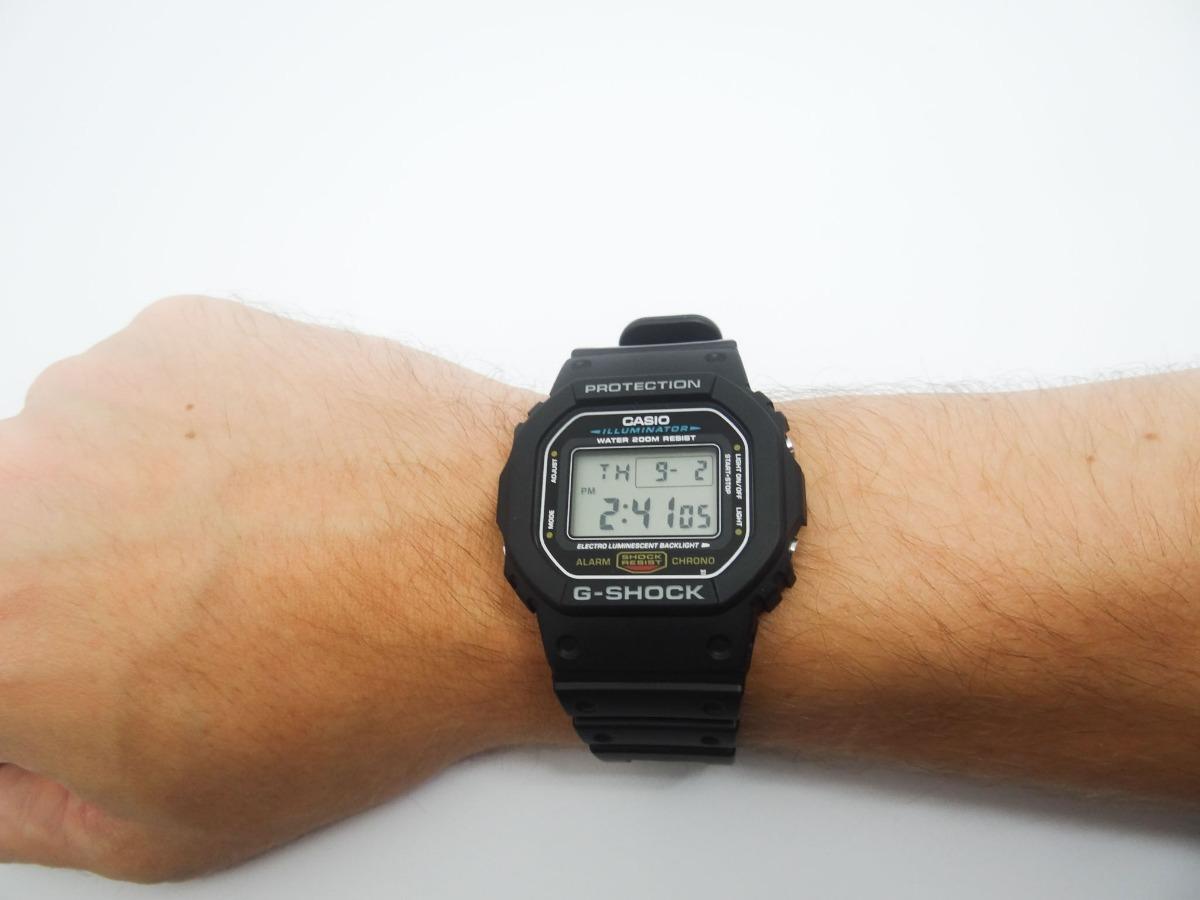 700c326577a Relógio G-shock Dw5600e Casio Original 1 Ano De Garantia - R  330