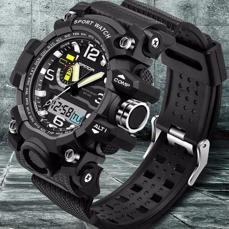 7104cc769e5 Relógio G-shock Esportivo Original Sanda - Analógico digital - R  90 ...