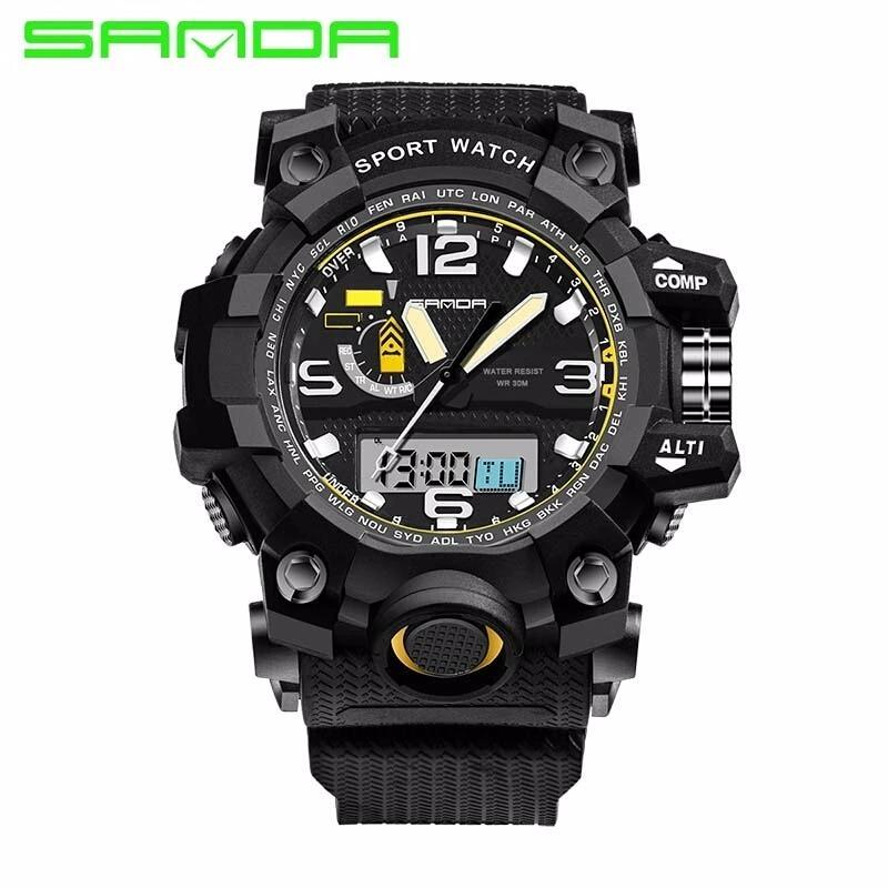 fe64629a4ec relógio g-shock esportivo original sanda - analógico digital. Carregando  zoom.