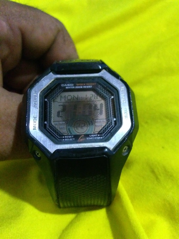 Relógio G Shock G-058b No Estado - R  30 4bb03d6b89980