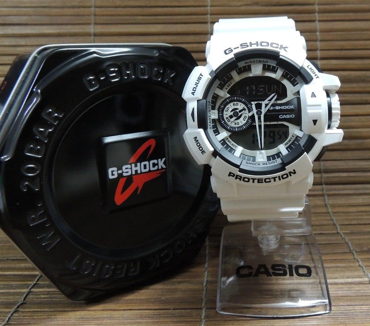 eccd05cbc6e relógio g-shock ga-400-7adr hora mundial   anadigi com nf. Carregando zoom.