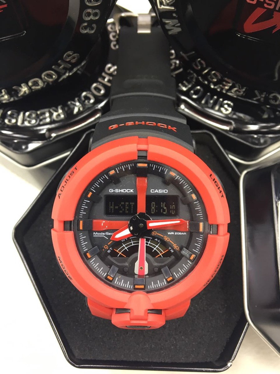 f76bd4d3487 relógio g shock ga-500  frete gratis . Carregando zoom.