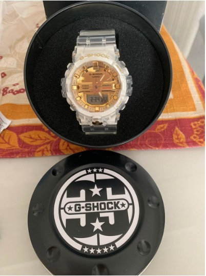 ef8b3ce5034 Relógio G-shock Ga-835e-7 Comemorativa De 35 Anos Original - R  798 ...