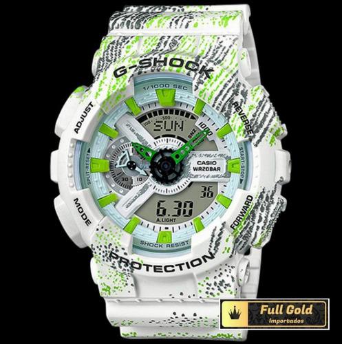 relógio g shock ga110tx-7adr - lançamento - 100% original