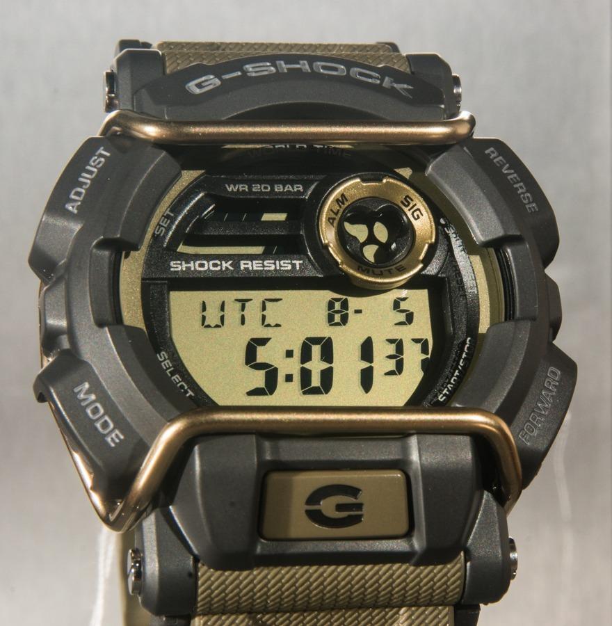221afde19 Relógio G-shock Gd 400 Gd-400-9dr Marrom Original - R  495