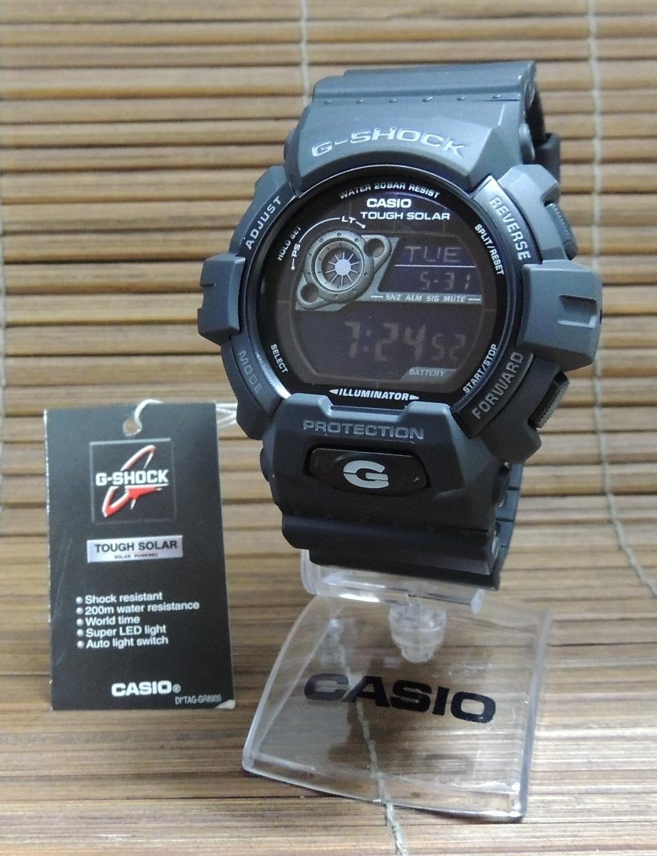 4c0667e0953 Relógio G-shock Masculino Gr-8900a-1dr Hora Mundial Nf + Gar - R ...
