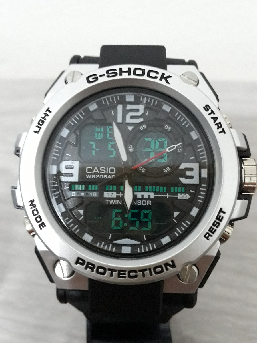 a8ef2c16d25 Relógio G Shock Metal Barato Prova D água Promoção Vídeo Top