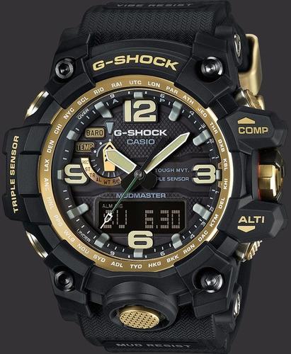 relógio g-shock mud resist - gwg - 1000gb-1a