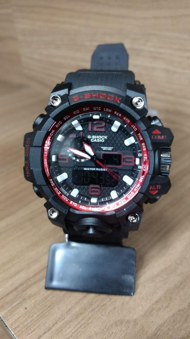 deced649c9d Relógio G-shock Mudmaster Gwg-1000-1a 1 Linha Top Resistente - R ...